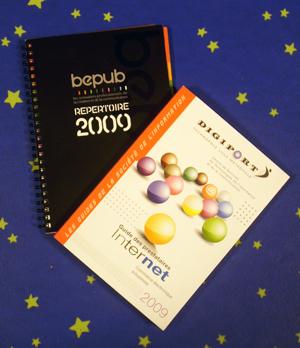 répertoire Bepub 2009 et guide des prestataires Internet 2009 Digiport