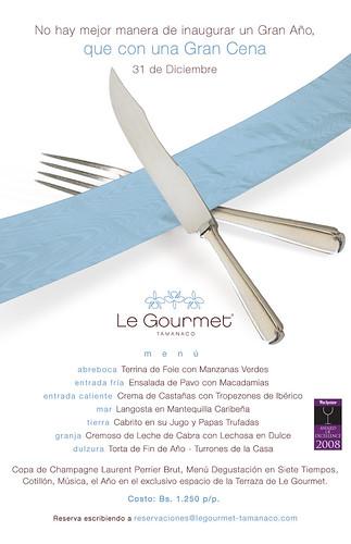 Le Gourmet-Cena Fin de A?o-Invitaci?n mail