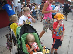 All-you-can-drink milk at Minnesota State Fair