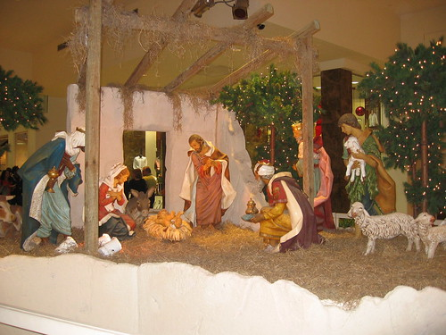 Nativity scene in Puerto Rico