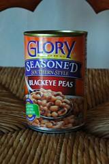 Happy New Year! lucky food - blackeyed peas