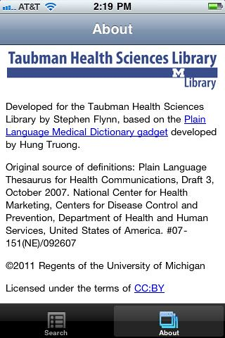 4blog, Plain Language Medical Dictionary