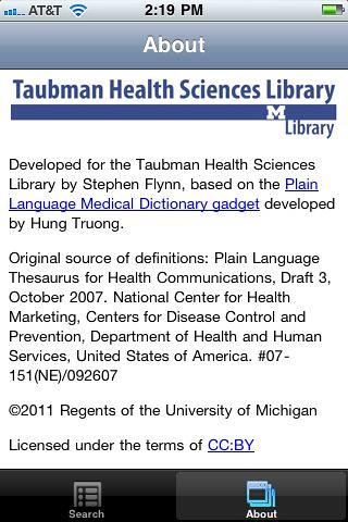 4blog, Plain Language Medical Dictionary