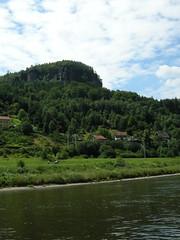 Labe (Elbe) between Decin and Hrensko
