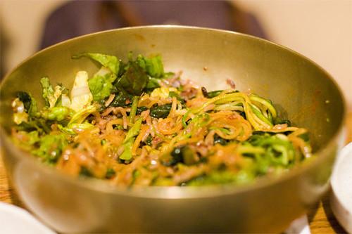 Mixed yulmoo/veggie and purple rice