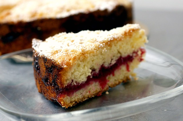 cranberry vanilla coffee cake
