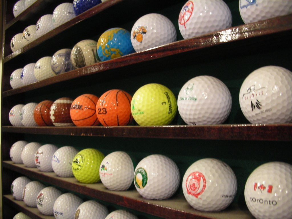 Part of my Golf Ball Collection