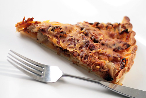 Slice of Tart with Fork