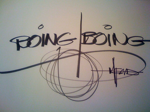 Syd Mead's version of the Boing Boing logo