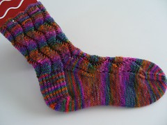 Waving Lace Sock