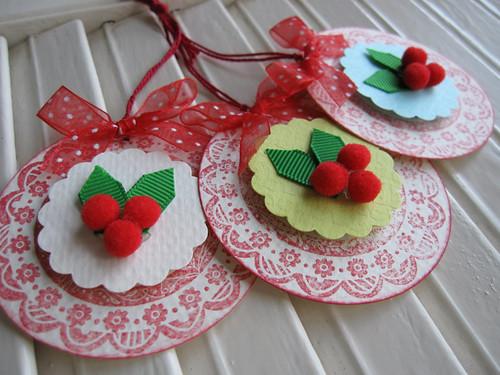 Very Merry Berries Tags