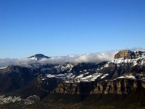 Mountains facing Les 7 Laux.