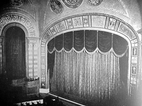 Vintage view: The Stage at the Shore Theater. Photo from stevesobczuk via flickr
