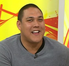 geoff huegill on the morning show