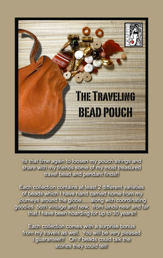 The Traveling Bead pouch
