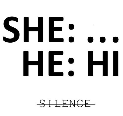 <silence v. v> [OI, HI]