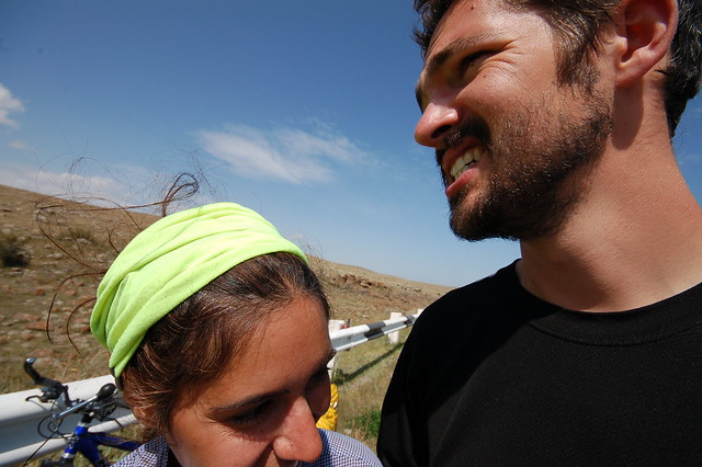 Me and Tenny On the Road, Armenia