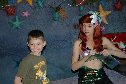 T with Ariel