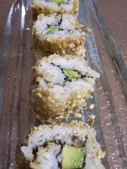 Christmas sushi