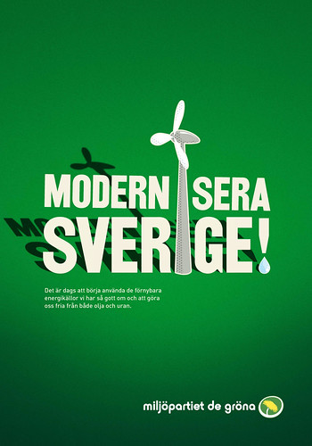 Valaffisch 2010 förnybara by Miljöpartiet de gröna.