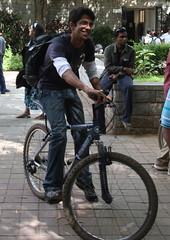 Cycling at Barcamp Bangalore 7