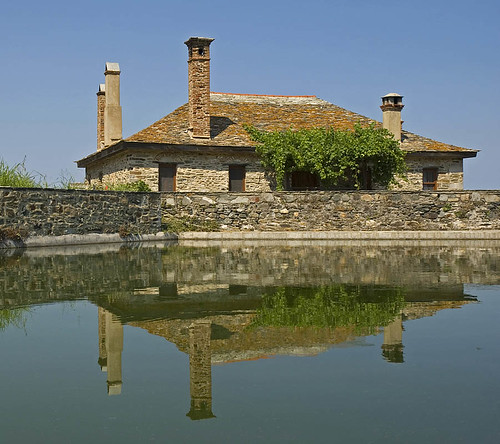 reflection at Iveron Monastery