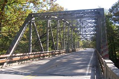 Steel truss bridge, Mill Creek