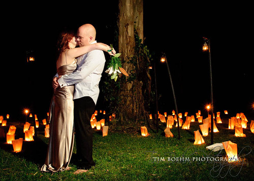 Candle lit wedding 3 by Tim Boehm Photography.
