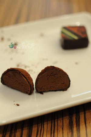 松露巧克力和季節限定