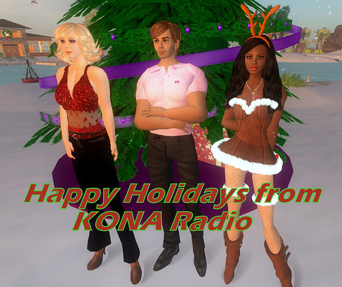 Happy Holidays from KONA Radio