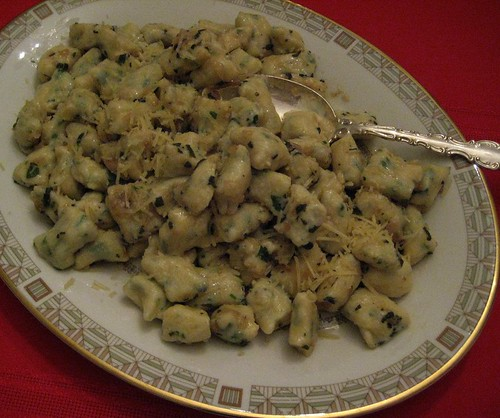 Ricotta Gnocchi with Browned Butter and Sage Sauce