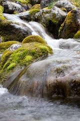 Flowing water in Jotunheimen