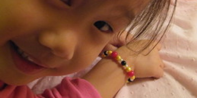 zoyo也會設計串珠手鍊(3.7ys)
