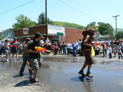 Trail Days - Hiker Parade - Squirting