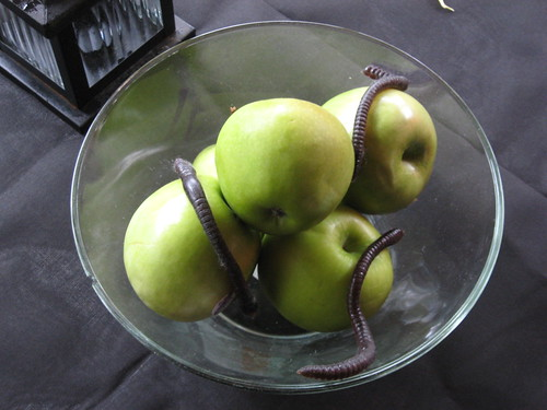 wormed apples decoration
