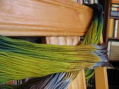 Ooooooo, pretty yarn