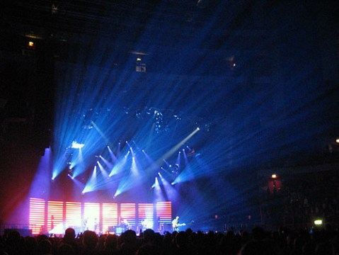Coldplay i Globen