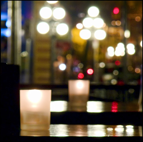 Candlelit Table for One by ecstaticist, on Flickr