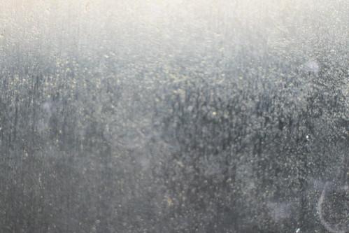 Dirty Wet Glass—texture