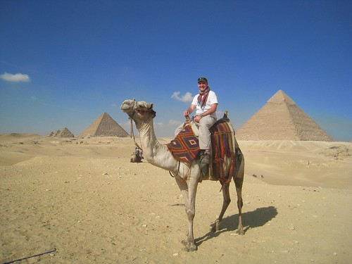 Camel ride to the Great Pyramids