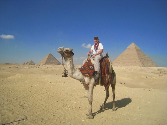 Great Pyramids in Giza