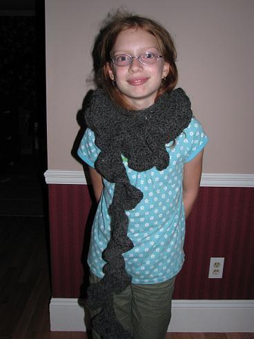 Dorky scarf