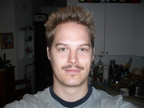 This Mo growing is so hard, I had to take a day off work to keep at it.