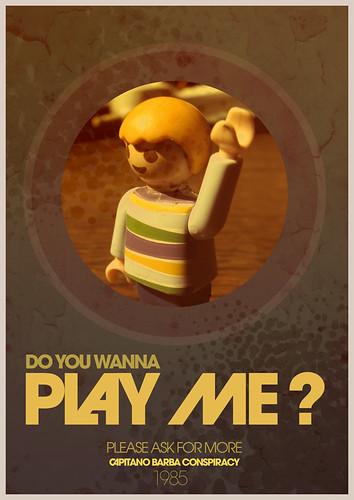 DO YOU WANNA PLAY ME? by CAPITANO BARBA.