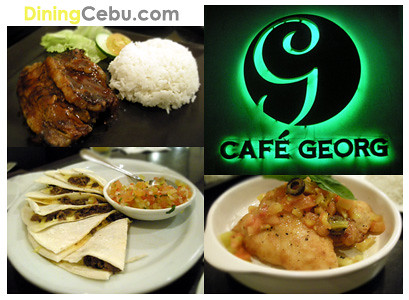Restaurant in Cebu Philippines - Cafe Georg