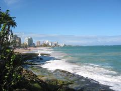 The Condado beach, San Juan
