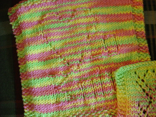 July Dishcloth