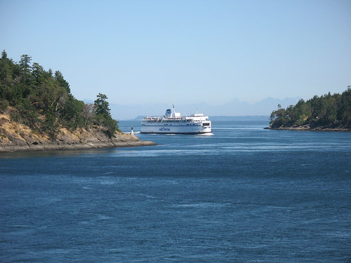 Ferry home from Vancouver Island