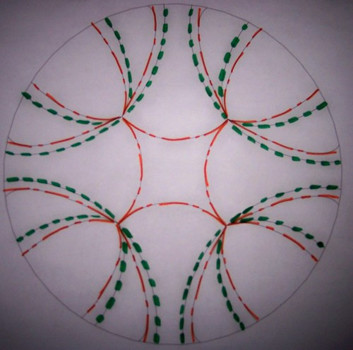 Philipily Quatre-Directional Crease pattern by you.
