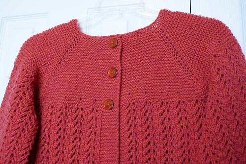 February Lady Sweater - detail